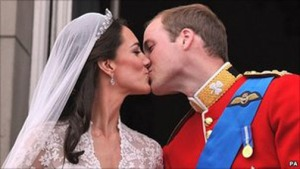 Kate-Middleton-Prince-William-kissing-at-British-royal-wedding