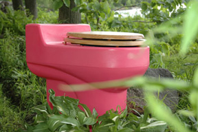 toilet-in-a-forest