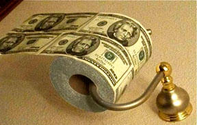 dollar-bill-toilet-paper