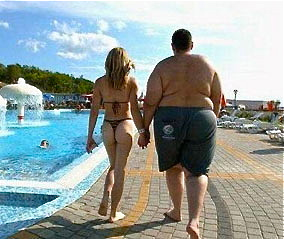 Fat Man And Skinny Woman 7