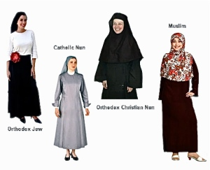 Image result for religious requirement for women to cover their hair