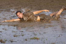 swimming-in-mud