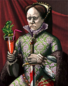 bloody queen mary whats in a name Known later in life as queen mary i, the first queen regnant of england, the legendary monarch now known as bloody mary was born on february 18, 1516 in greenwich, england at the palace of placentia.
