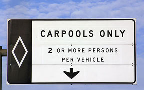 highway-carpool-sign