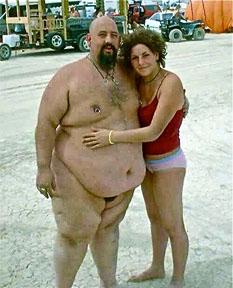 Fat Man And Skinny Woman 91