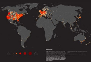 world-map-of-zombie-outbreaks
