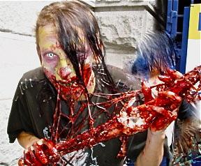 zombie-eating