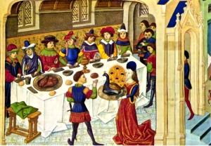 medieval-swan-banquet