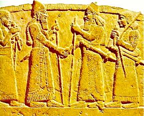 ancient-babylonians-shaking-hands