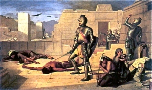 conquistadors-slaughter-mexicans