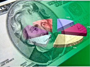 dollar-bill-transparent-pie-chart