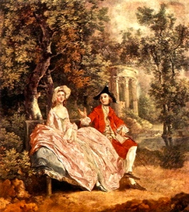medieval-couple-in-garden