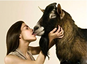 valentines-day-woman-kissing-a-goat
