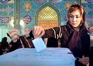 woman-voting-in-iran