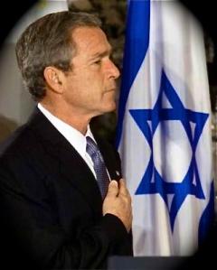 bush_israel_flag