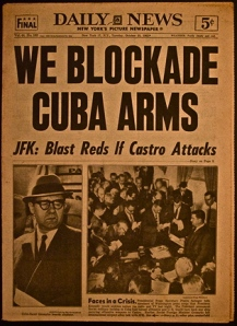 newspaper-with-headline-about-cuba