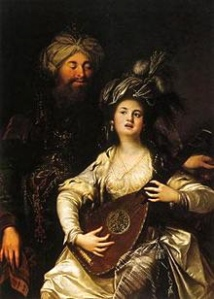 sultan-with-harem-girl