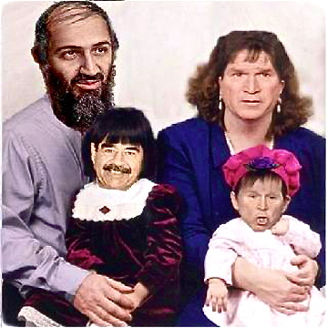 family-photo-bin-laden-saddam-bush-jr
