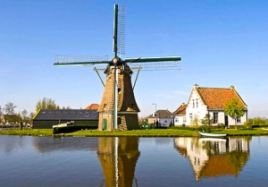 netherlands-windmill