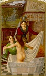 medieval-bathing