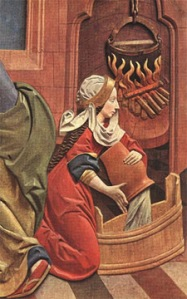 medieval-woman-prepares-bath