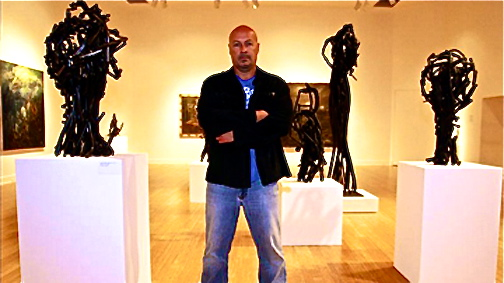 victor-hugo-zayas-mexican -artist- guns